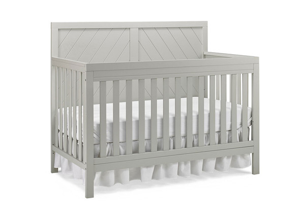 Fisher Price Buckland Convertible Crib in Misty Grey