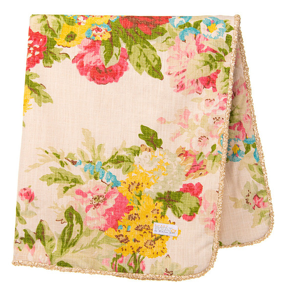 Glenna Jean Charlotte 3Pc Set (Includes quilt, pink dot sheet, crib skirt)