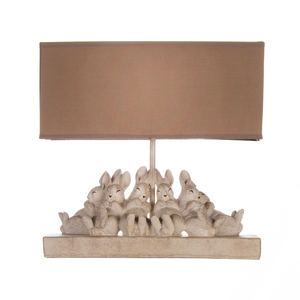 Glenna Jean Charlotte Bunnies Lamp