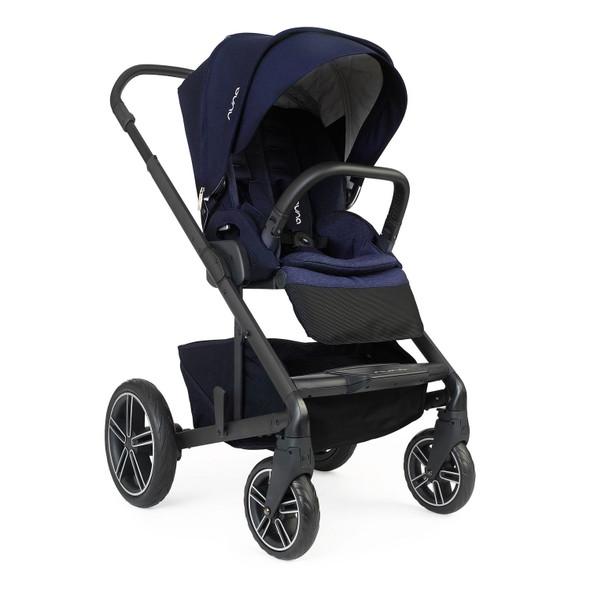 Nuna MIXX2 Stroller + Adapters + Rain Cover in Indigo