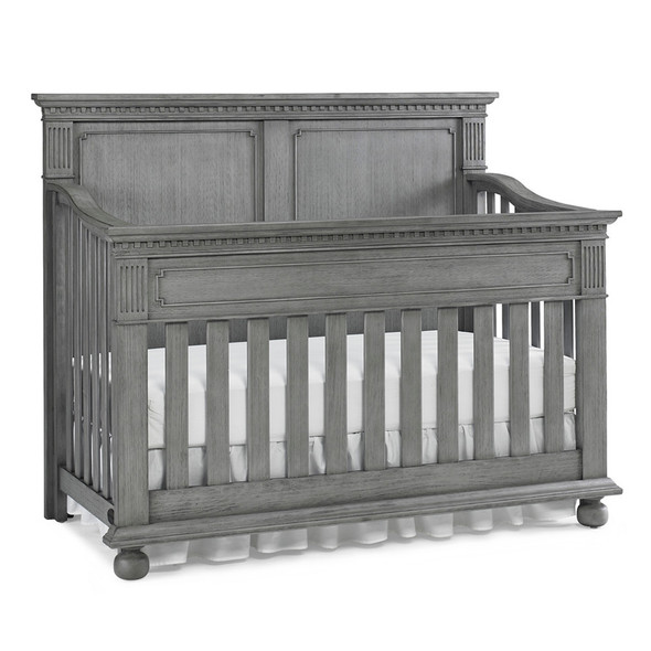 Dolce Babi Naples Full Panel Crib in Nantucket Grey by Bivona & Company