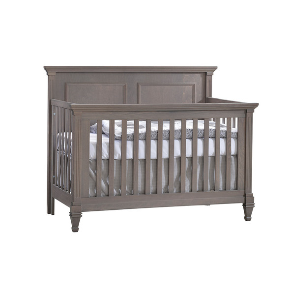 Natart Belmont Convertible Crib in Grigio