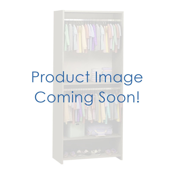 NEST Matisse Collection Convertible wardrobe system (included 3 shelves & 2 hanging rods) in Grigio