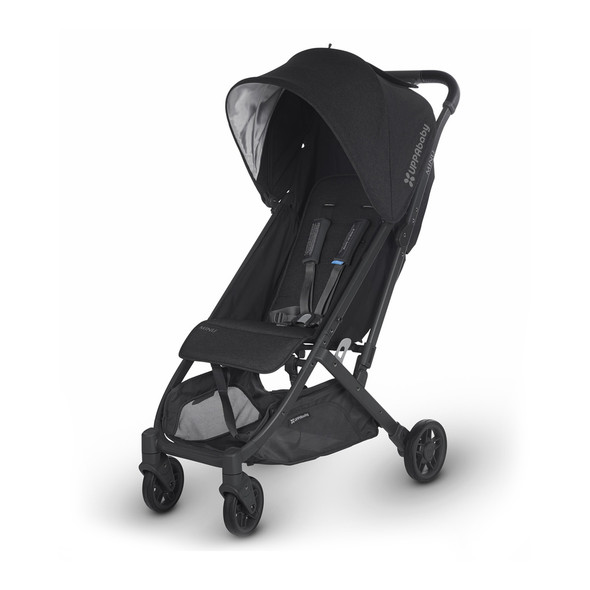Uppa Baby Minu Stroller In Jake (Black Melange/Carbon/Black Leather)