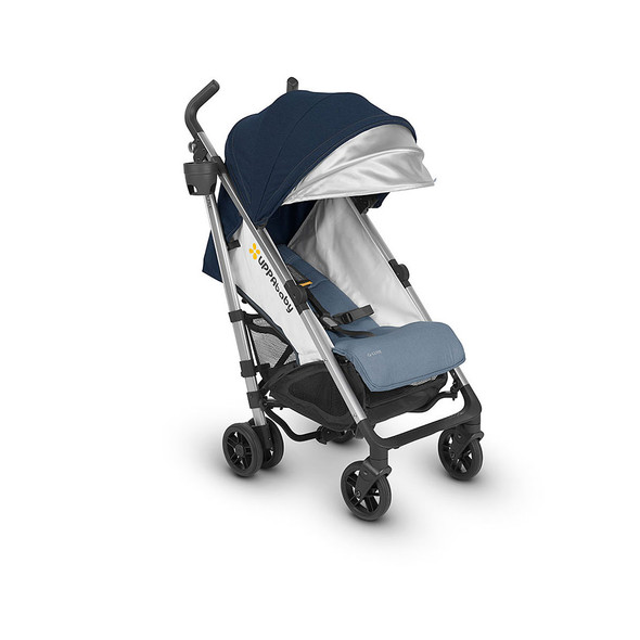 Uppa Baby G-Luxe Stroller In Aidan (Denim/Silver)