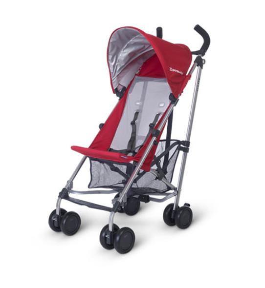Uppa Baby G-Lite Stroller 2018 In Denny (Red/Silver)