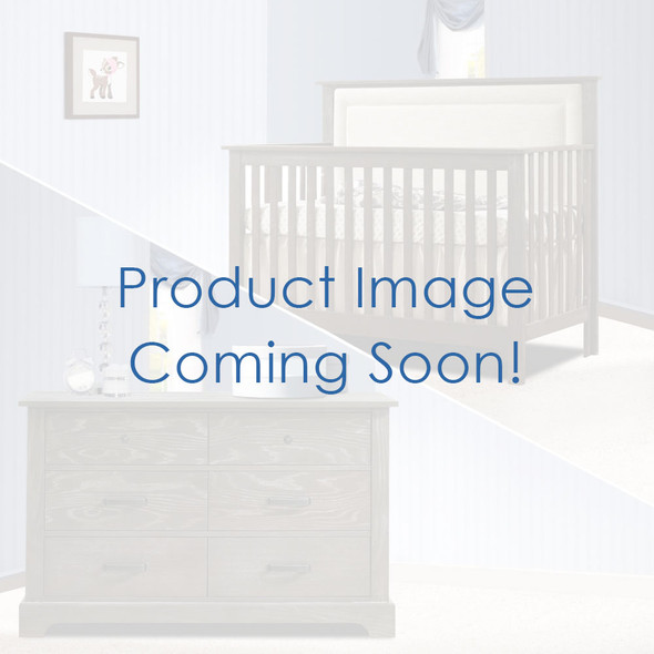 Nest Emerson Collection 2 Piece Nursery Set Crib with Talc Upl. Panel and Double Dresser in Grigio