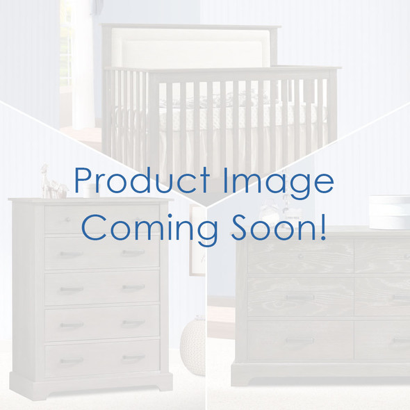 Nest Emerson Collection 3 Piece Nursery Set with Talc Upl. Panel in Grigio