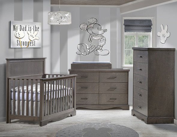 NEST Matisse Collection 3 Piece Nursery Set in Grigio