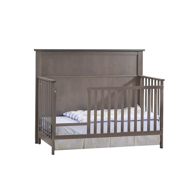 NEST Matisse Collection 5 in 1 Convertible Crib in Grigio