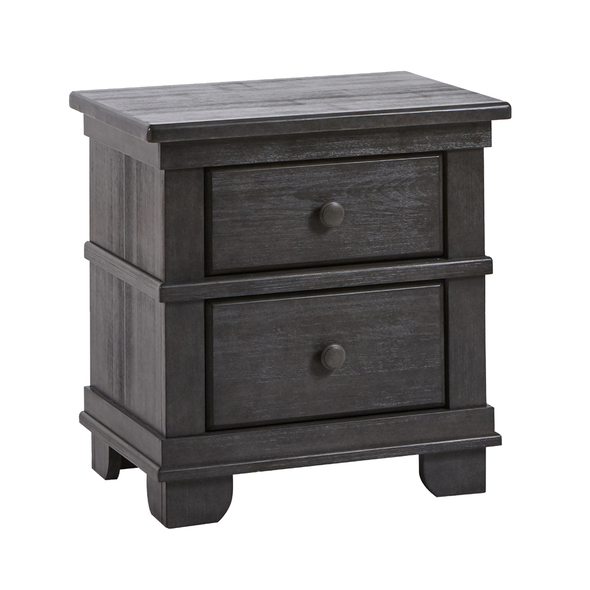 Pali Torino Collection Nightstand in Distressed Granite
