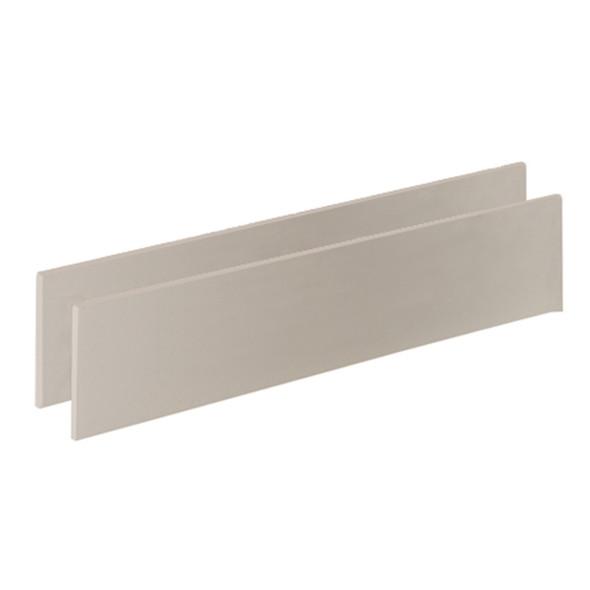 Natart Bella Collection Double Bed Conversion Rails for Bella Crib in Pure White