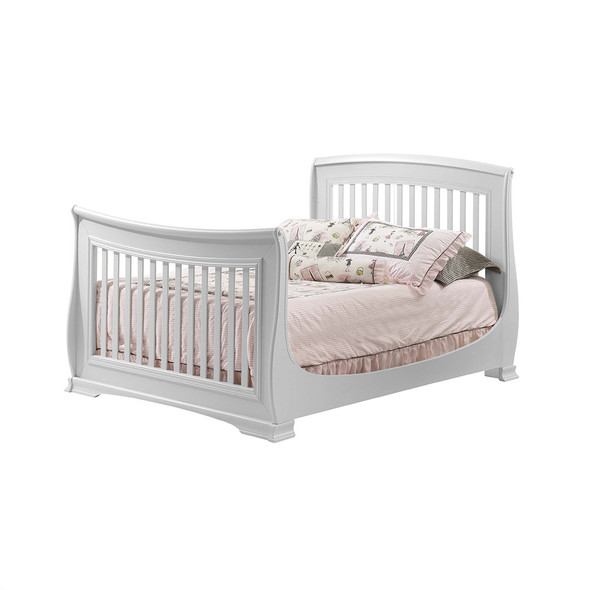 Natart Bella Collection Double Bed in Pure White