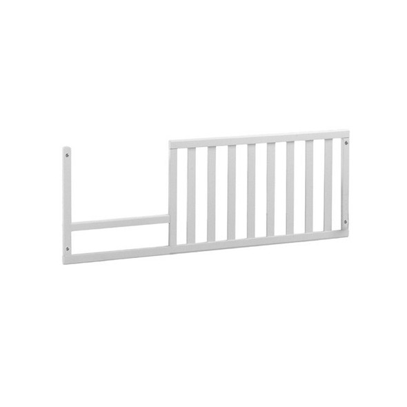 Natart Bella Collection Toddler Rail for Bella Crib in Pure White