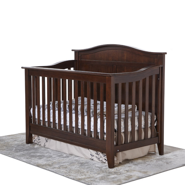 Pali Napoli Collection Forever Crib in Mocacchino