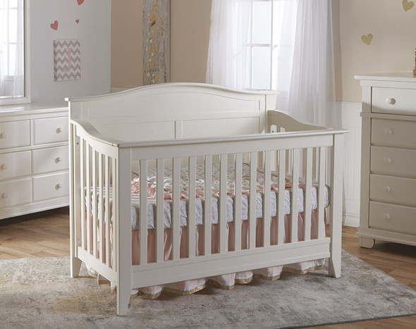 Pali Napoli Collection Forever Crib in White
