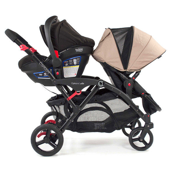 Kolcraft Contours Britax Infant Car Seat Adapter in Black