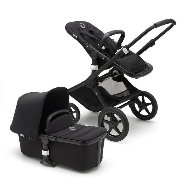 Bugaboo Fox Complete Stroller Black/Black Frame in Black