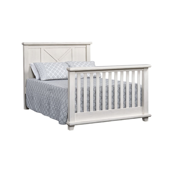 Oxford Baby Lexington Full Bed Conversion Kit in Heirloom White