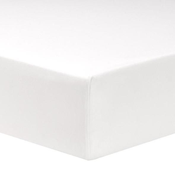 Liz and Roo White Egyptian Cotton Crib Sheet-1