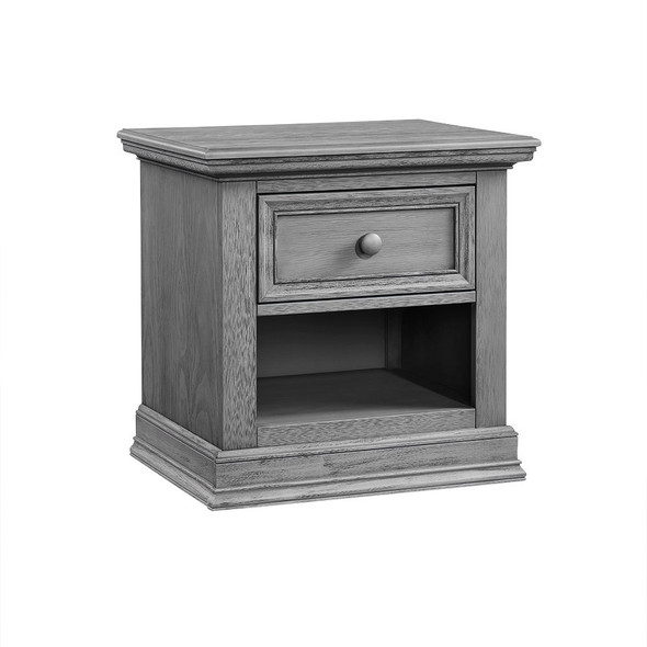 Oxford Baby Glenbrook Collection Nightstand in Graphite Gray