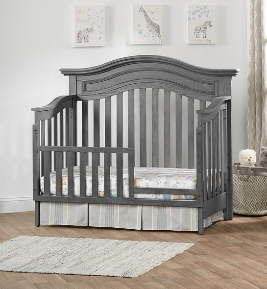 Oxford Baby Glenbrook Collection Guard Rail in Graphite Gray