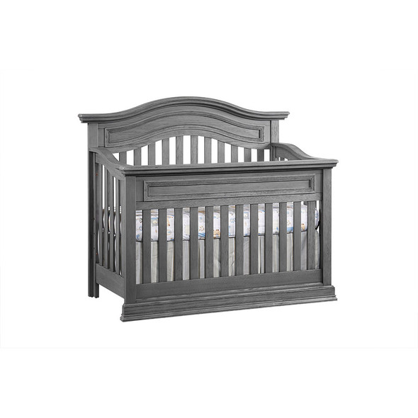 Oxford Baby Glenbrook Collection 2 Piece Nursery Set in Graphite Gray