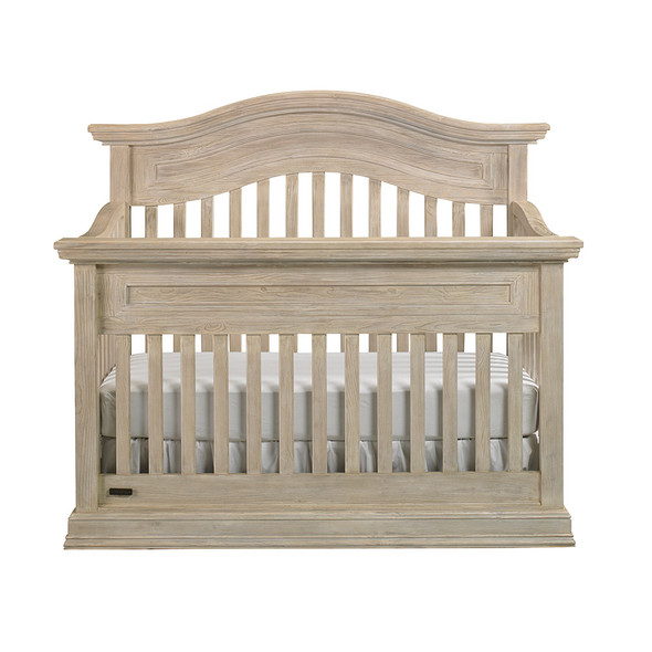 Cosi Bella Luciano Collection Convertible Crib in White Washed Pine