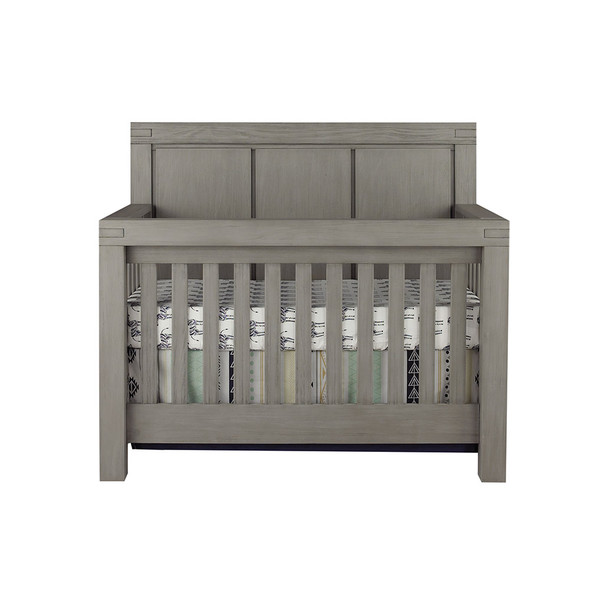 Oxford Baby Piermont Collection Convertible Crib in Rustic Stonington Gray