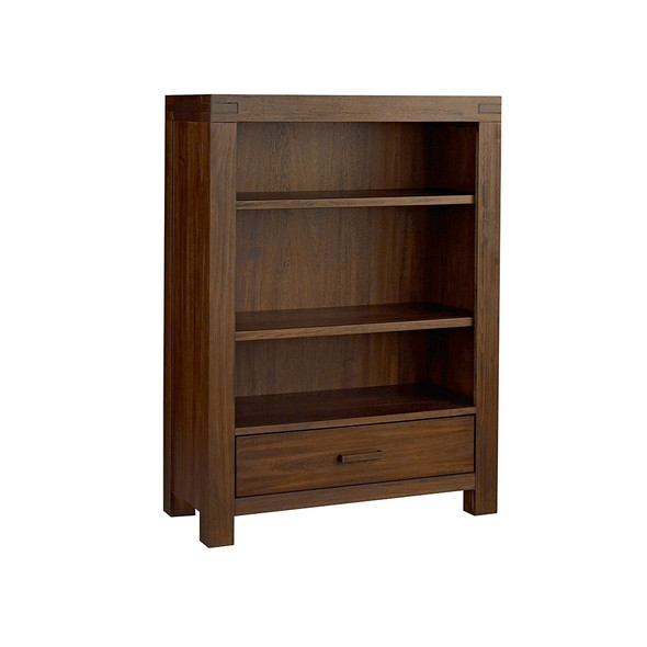 Oxford Baby Piermont Collection Bookcase in Rustic Farmhouse Brown