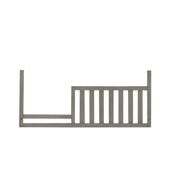 Oxford Baby Piermont Collection Guard Rail in Rustic Stonington Gray (Production 10 Only)