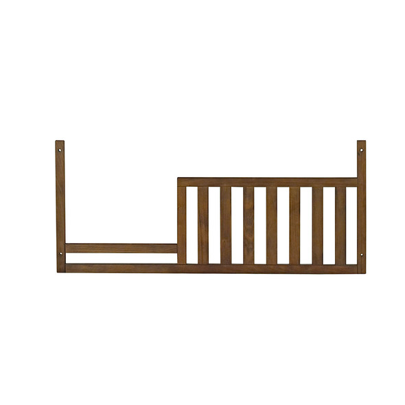 Oxford Baby Piermont Collection Guard Rail in Rustic Farmhouse Brown