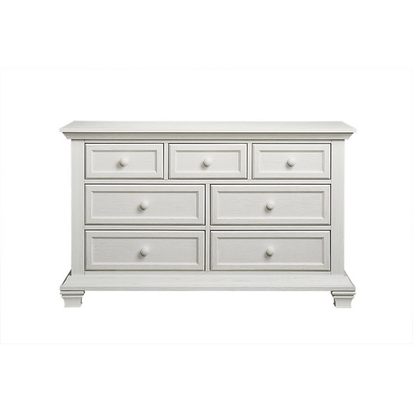 Oxford Baby Cottage Cove Collection 7 Drawer Dresser in Vintage White