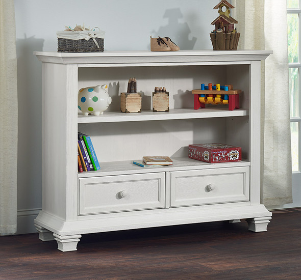Oxford Baby Cottage Cove Collection Bookcase in Vintage White