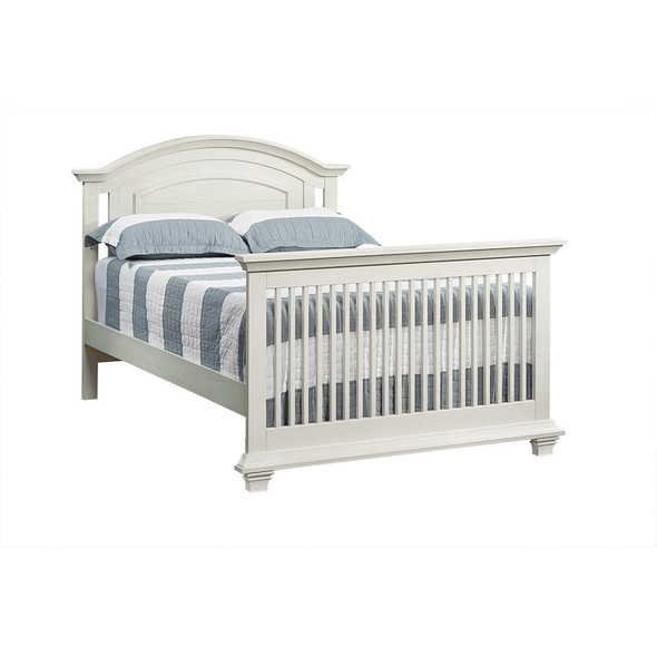 Oxford Baby Cottage Cove Collection Full Bed Conversion Kit in Vintage White