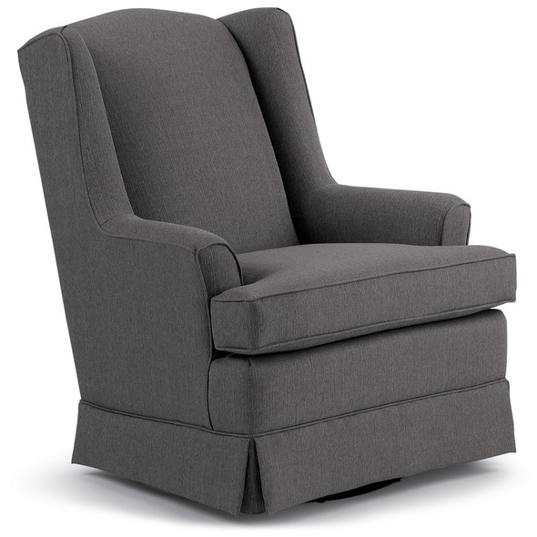 Best Chairs Sutton Swivel Glider - Granite
