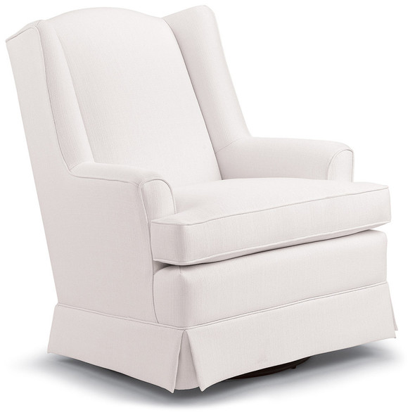 Best Chairs Sutton Swivel Glider - Snow