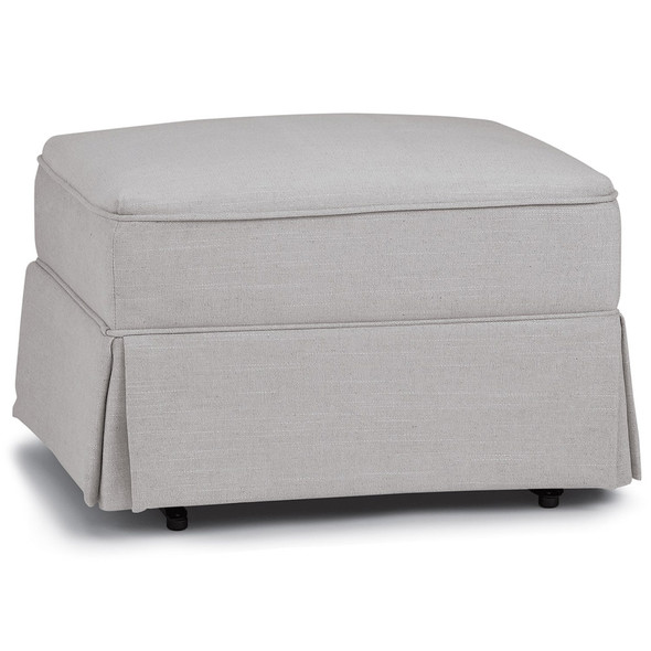 Best Chairs Sutton Glide Ottoman - Dove