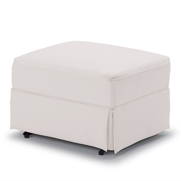 Best Chairs Sutton Glide Ottoman - Snow