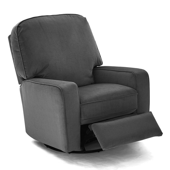 Best Chairs Bilana Swivel Glide Recliner - Graphite
