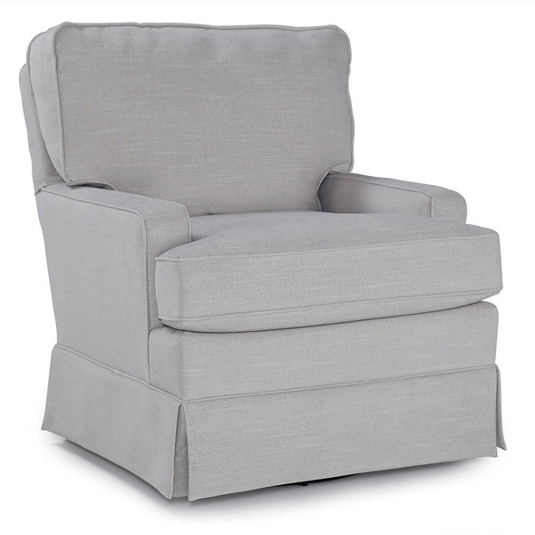 Best Chairs Charlotte Swivel Glider - Dove