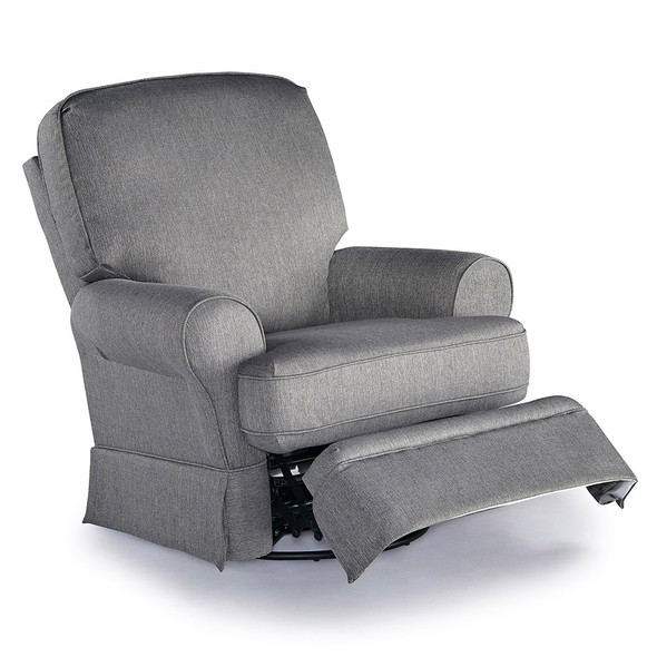 Best Chairs Dakota Swivel Glide Recliner - Granite