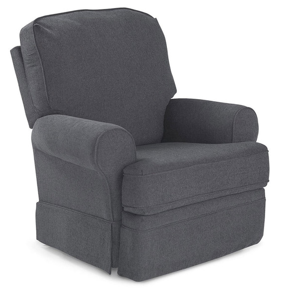 Best Chairs Dakota Swivel Glide Recliner - Graphite