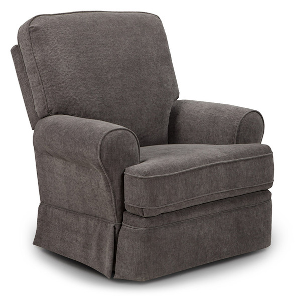 Best Chairs Dakota Swivel Glide Recliner - Mocha