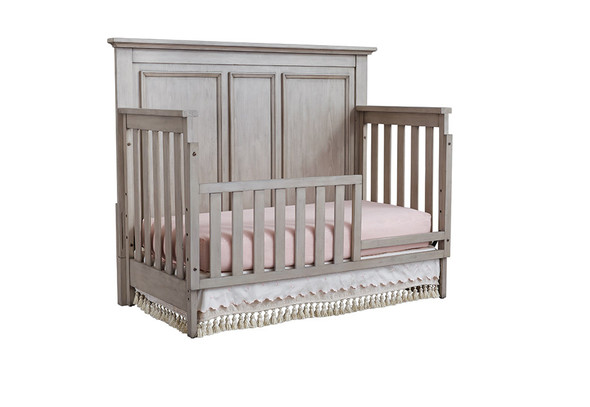 Oxford Baby Kenilworth Collection 4 in 1 Convertible Crib in Stone Wash