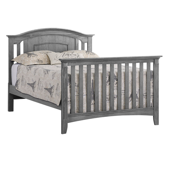 Oxford Baby Willowbrook Collection Universal Full Bed Conversion Kit in Graphite Gray