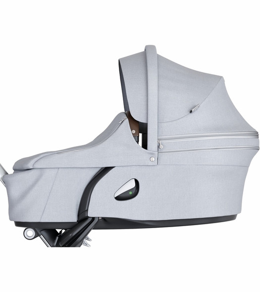 Stokke Xplory Carry Cot in Grey Melange