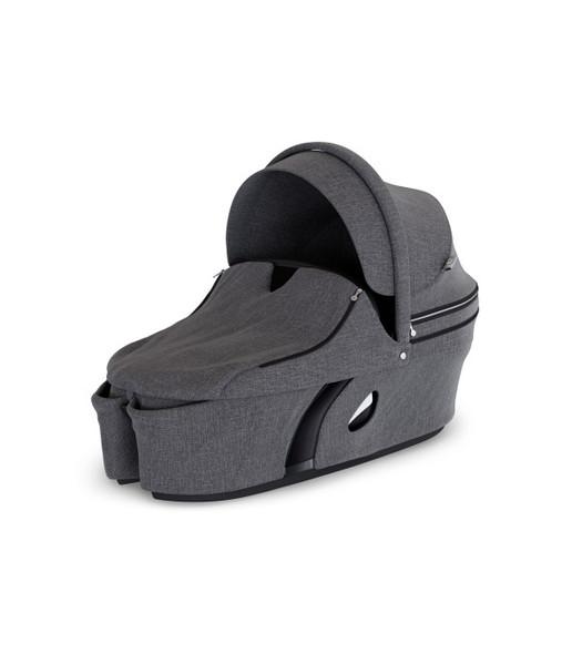 Stokke Xplory Carry Cot in Black Melange