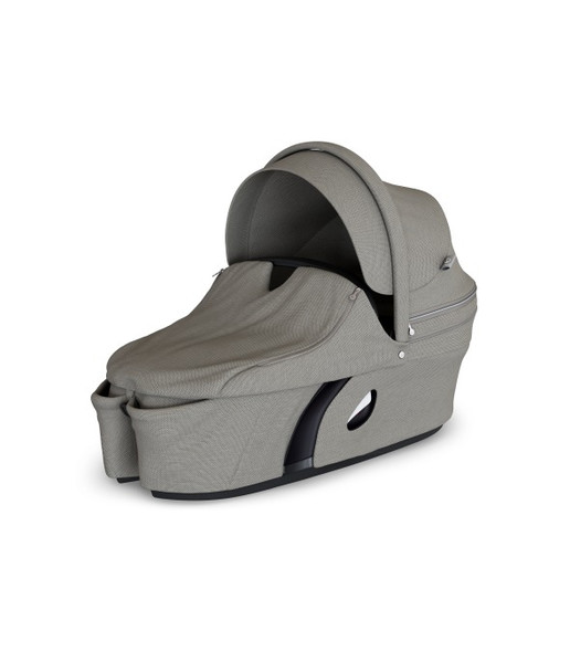 Stokke Xplory Carry Cot in Brushed Grey