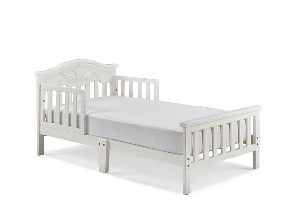 Fisher Price Charlotte Rose Toddler Bed in Snow White